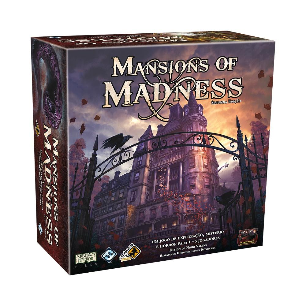 Mansions of Madness (Segunda Edição) - Jogo de Tabuleiro - Galápagos Jogos (em português)