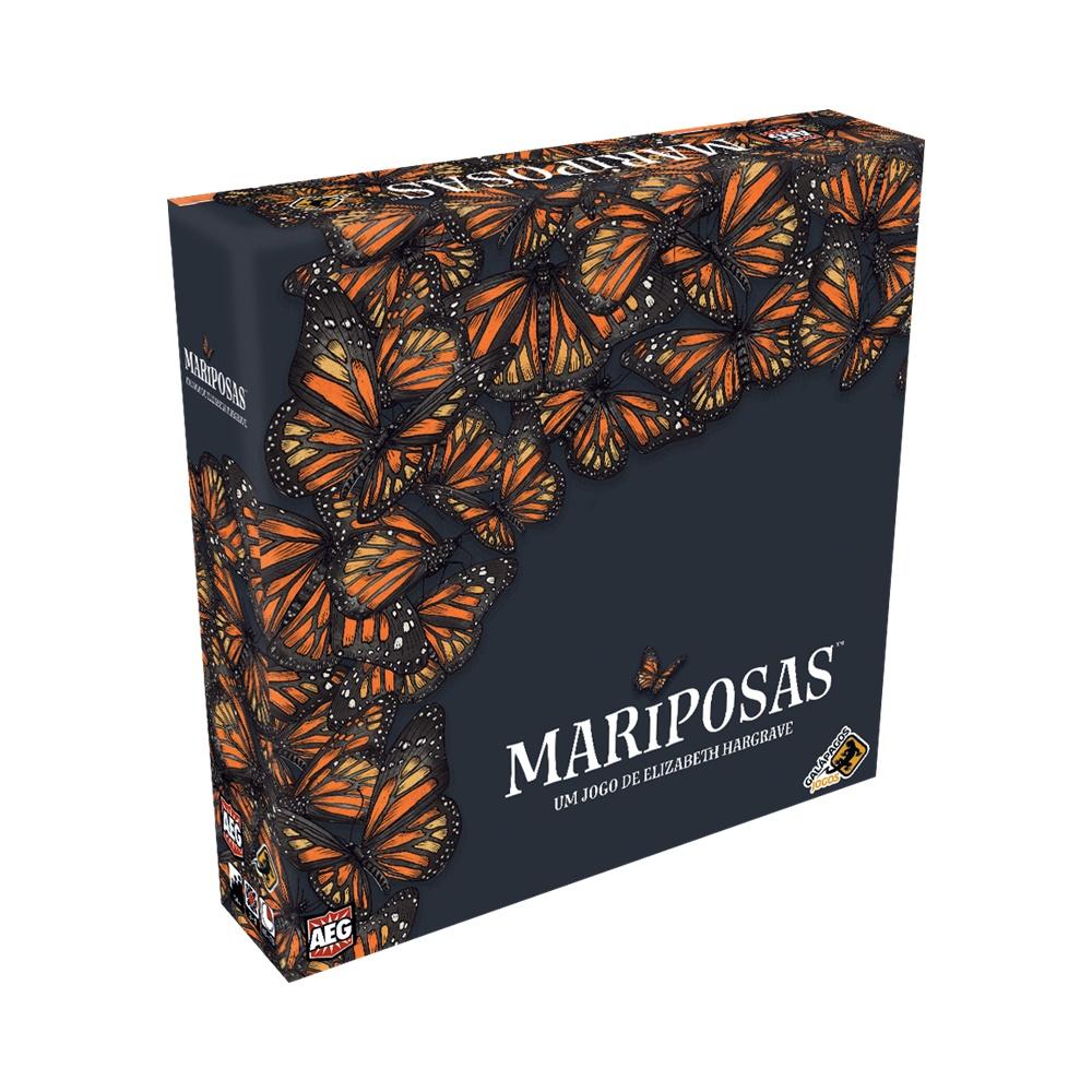 Mariposas - Jogo de Tabuleiro - Galápagos Jogos (em português)