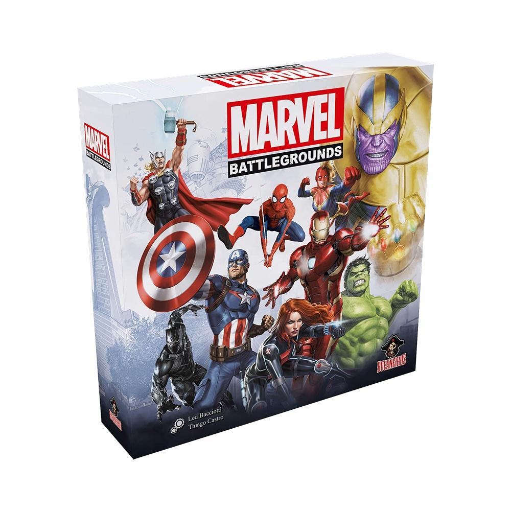 Marvel Battlegrounds - Jogo de Tabuleiro - Bucaneiros Jogos (em português)