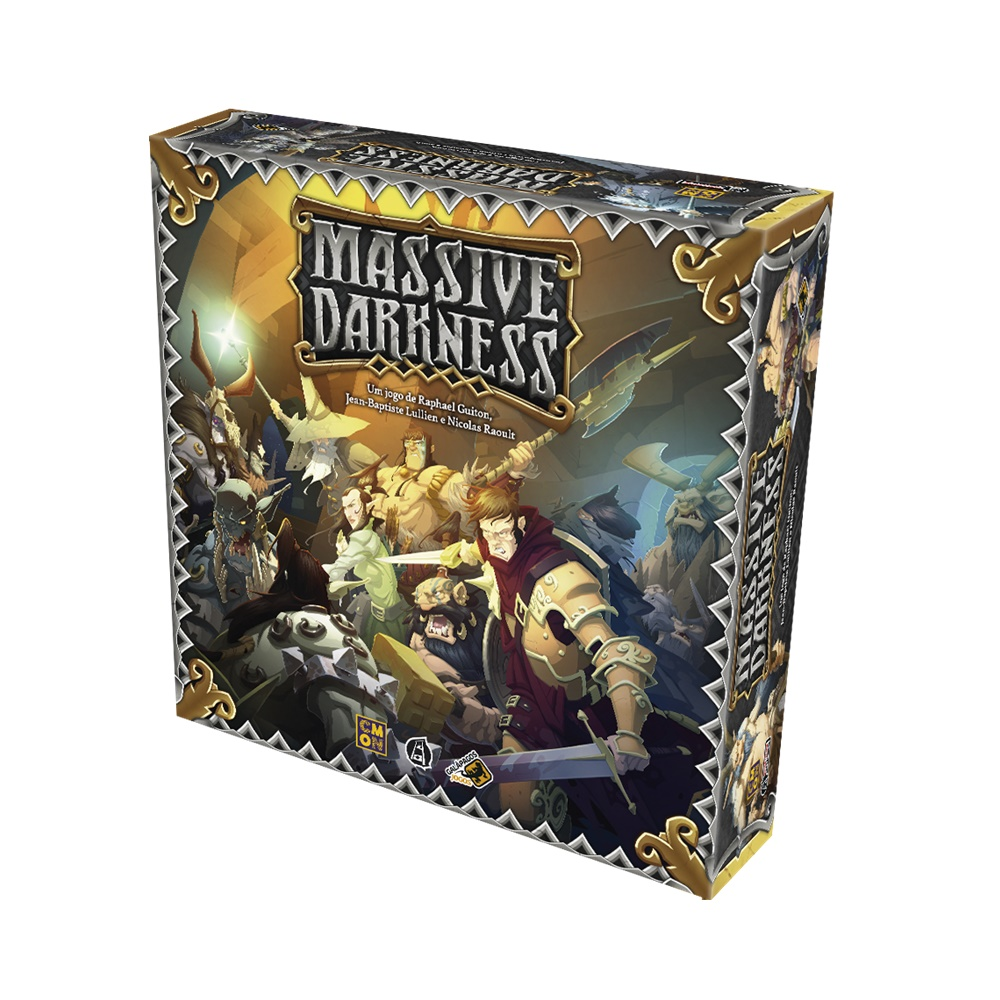 Massive Darkness - Jogo de Tabuleiro - Galápagos Jogos (em português)