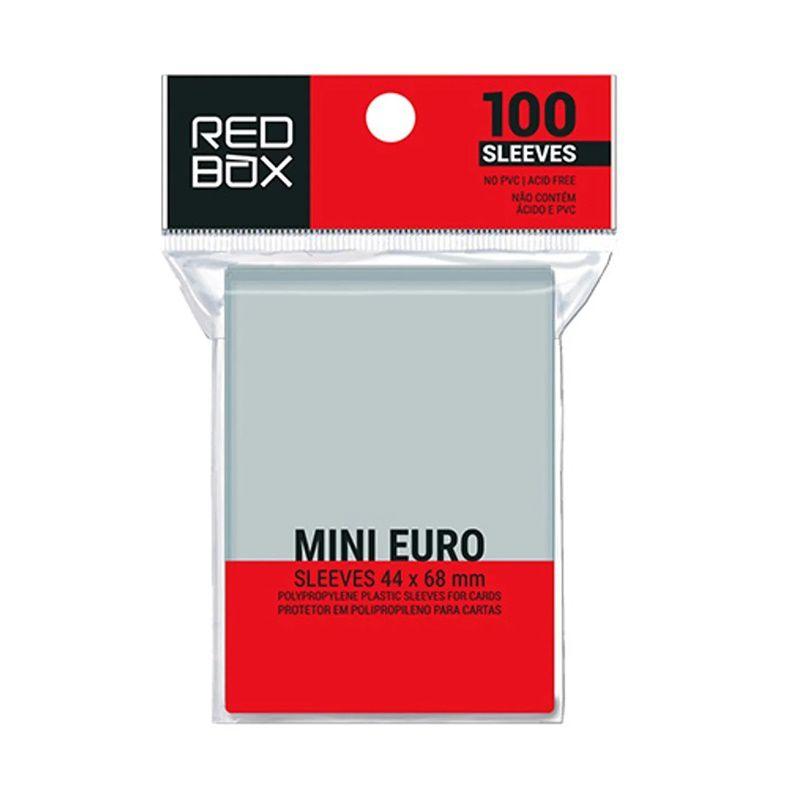 Mini Euro (Protetor de Carta) 44 x 68mm - Sleeve Editora Redbox