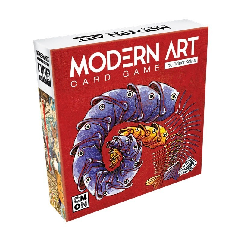 Modern Art Card Game + Sleeves