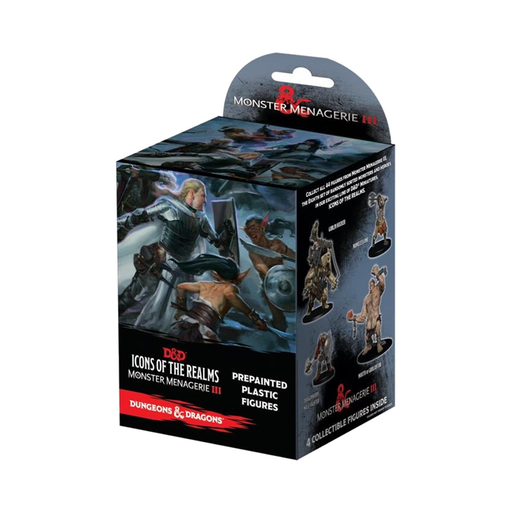 Monster Menagerie 3 - Icons of the Realms - Miniaturas Dungeons and Dragons (D&D)