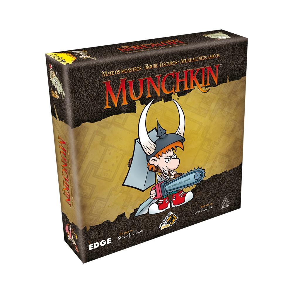 Munchkin - Jogo de Cartas - Galápagos Jogos (em português)