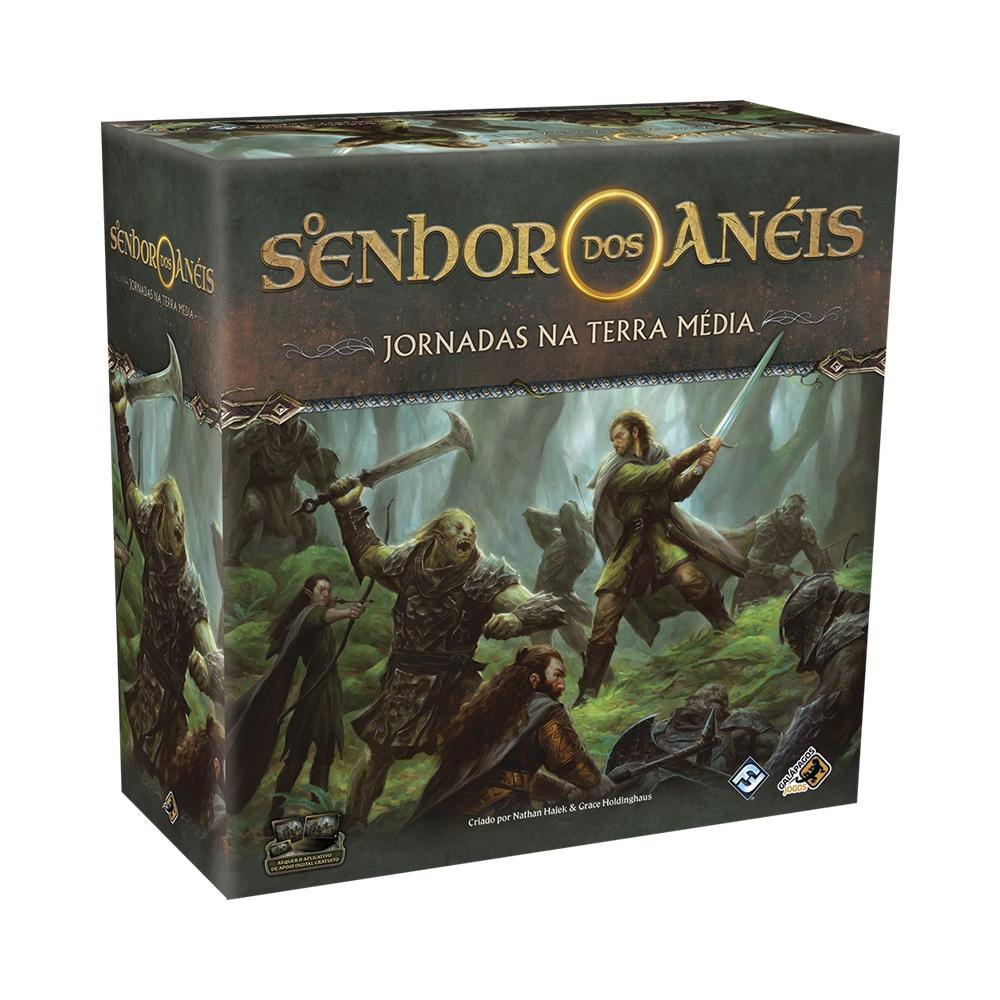O Senhor dos Anéis: Jornadas na Terra Média - Jogo de Tabuleiro - Galápagos Jogos (em português)