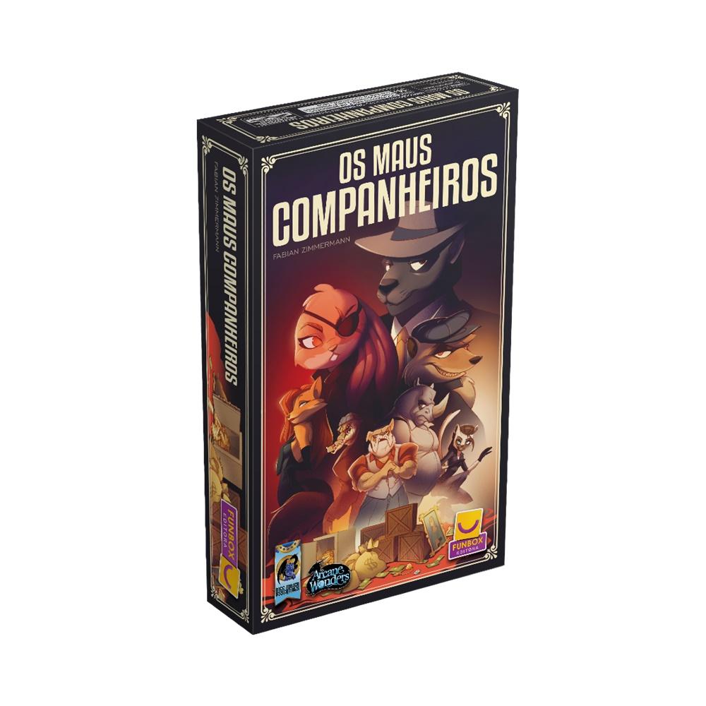 Os Maus Companheiros - Jogo de Tabuleiro - Funbox Editora (em português)