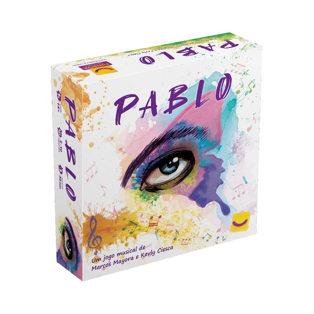Pablo (Segunda Edição) - Jogo de Tabuleiro - FunBox Editora (em português)