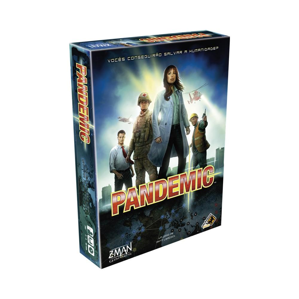 Pandemic (Pandemia) - Jogo de Tabuleiro - Galápagos Jogos (em português)