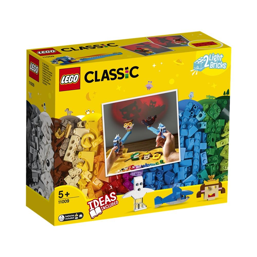 Peças e Luzes - Lego Classic 11009 - 441 Peças