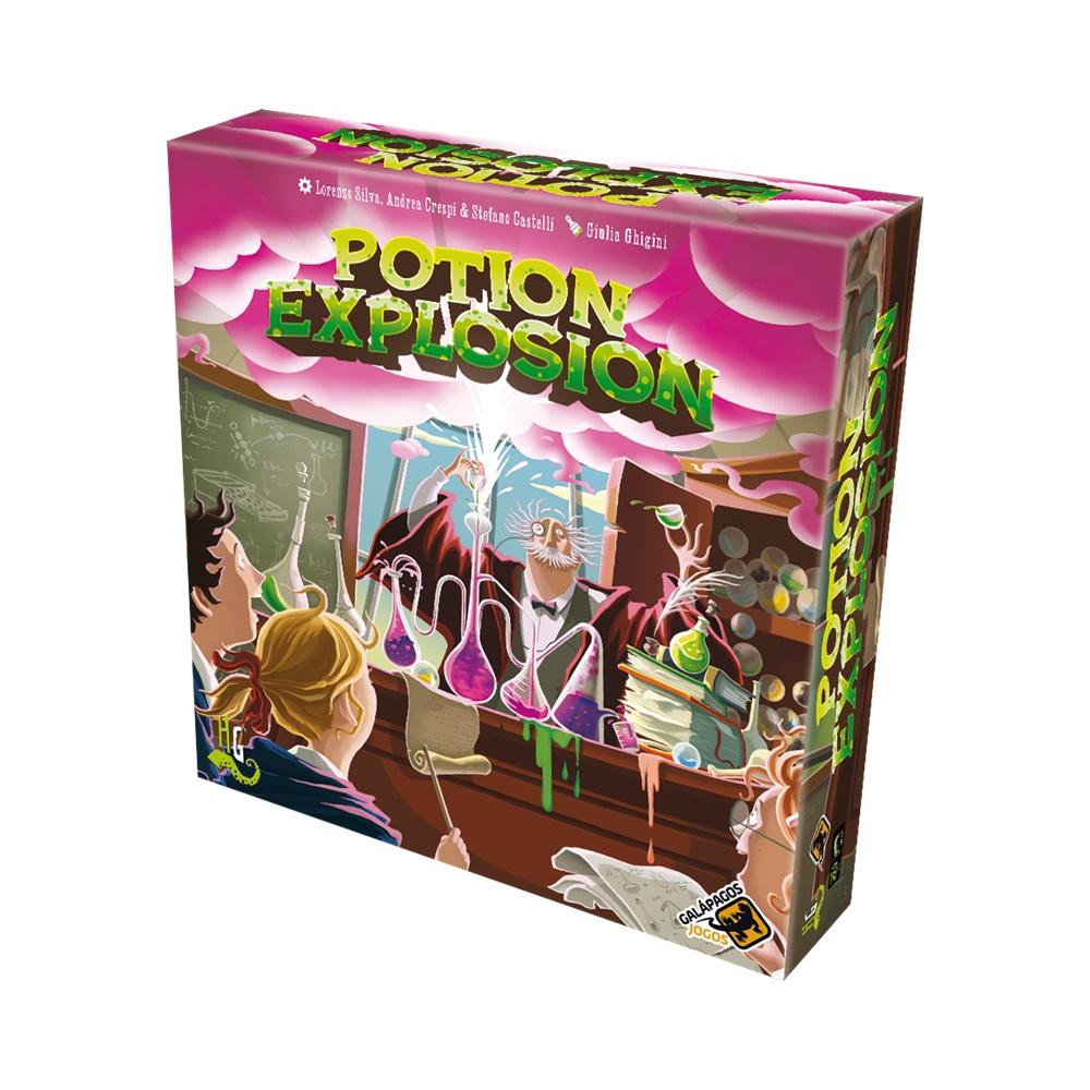 Potion Explosion (Segunda Edição) - Jogo de Tabuleiro - Galápagos Jogos (em português)