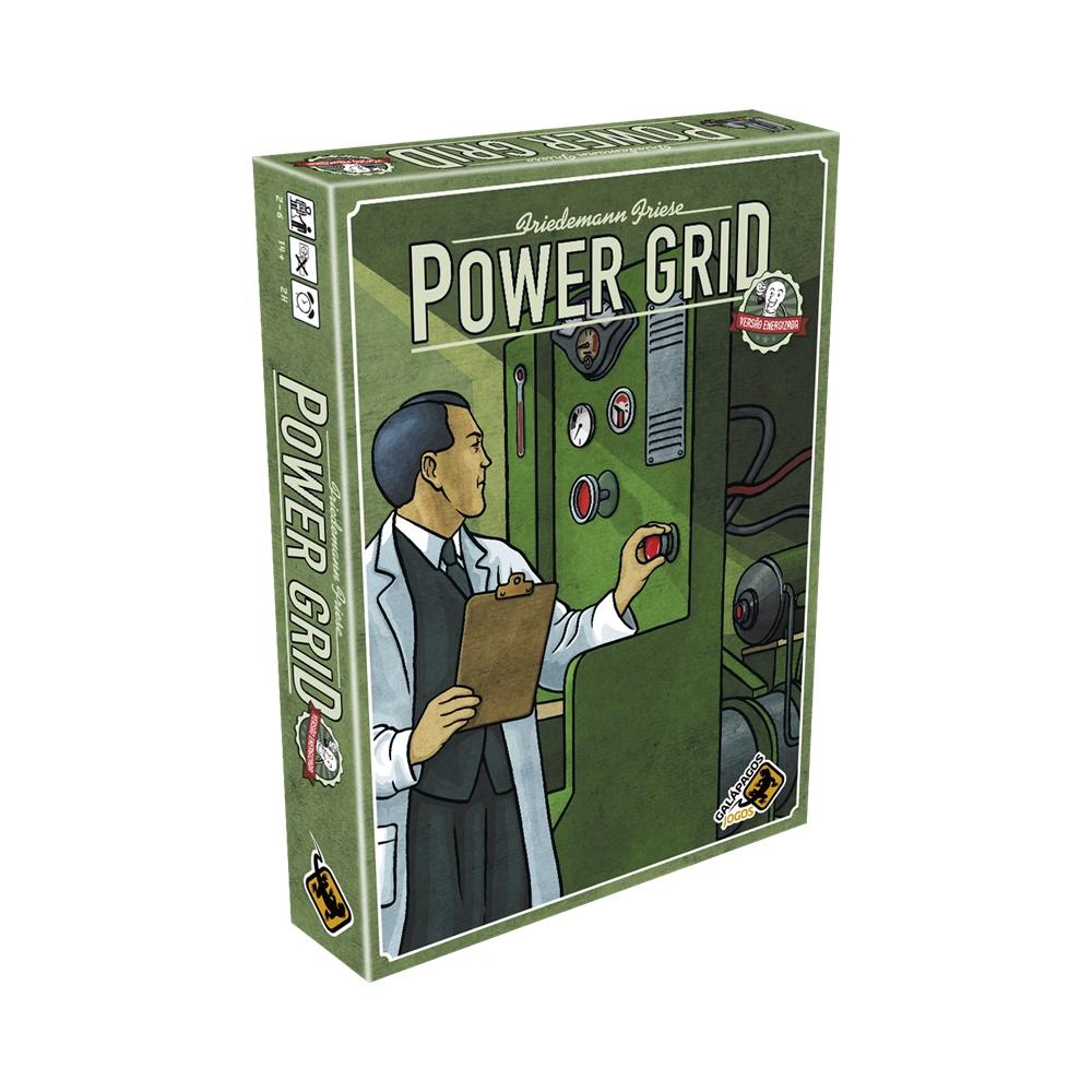 Power Grid: Versão Energizada - Jogo de Tabuleiro - Galápagos Jogos (em português)