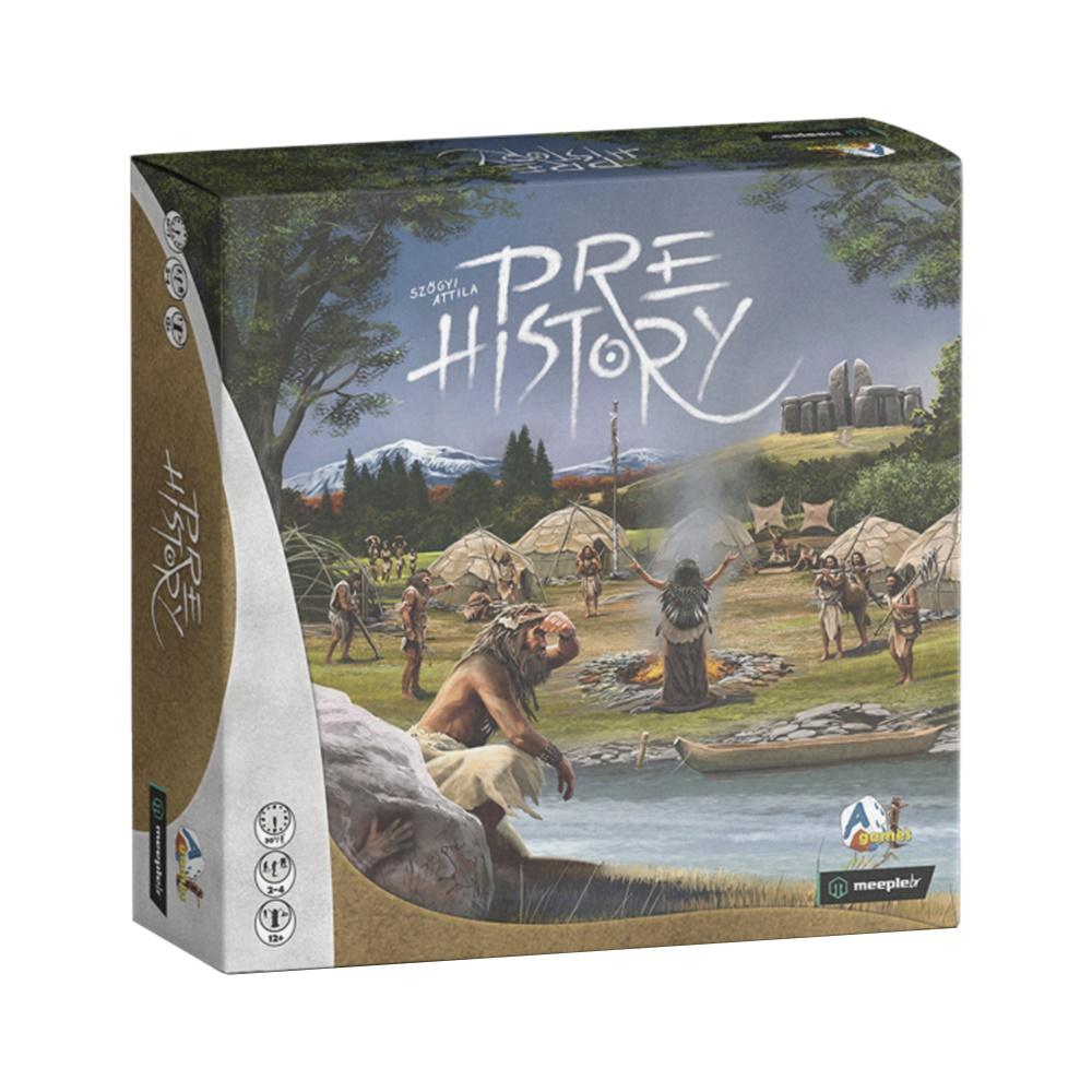 Prehistory - Jogo de Tabuleiro - MeepleBR (em português)