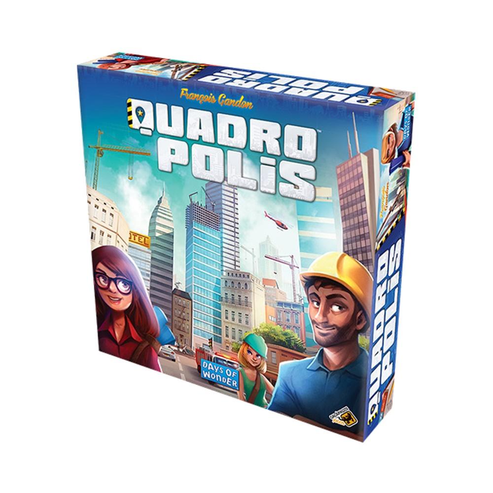 Quadropolis - Jogo de Tabuleiro - Galápagos Jogos (em português)