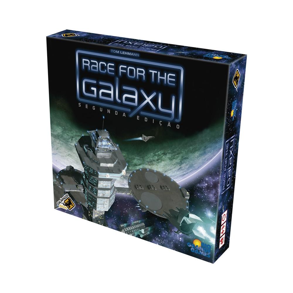 Race for the Galaxy (Segunda Edicao) - Jogo de Tabuleiro - Galápagos Jogos (em português)