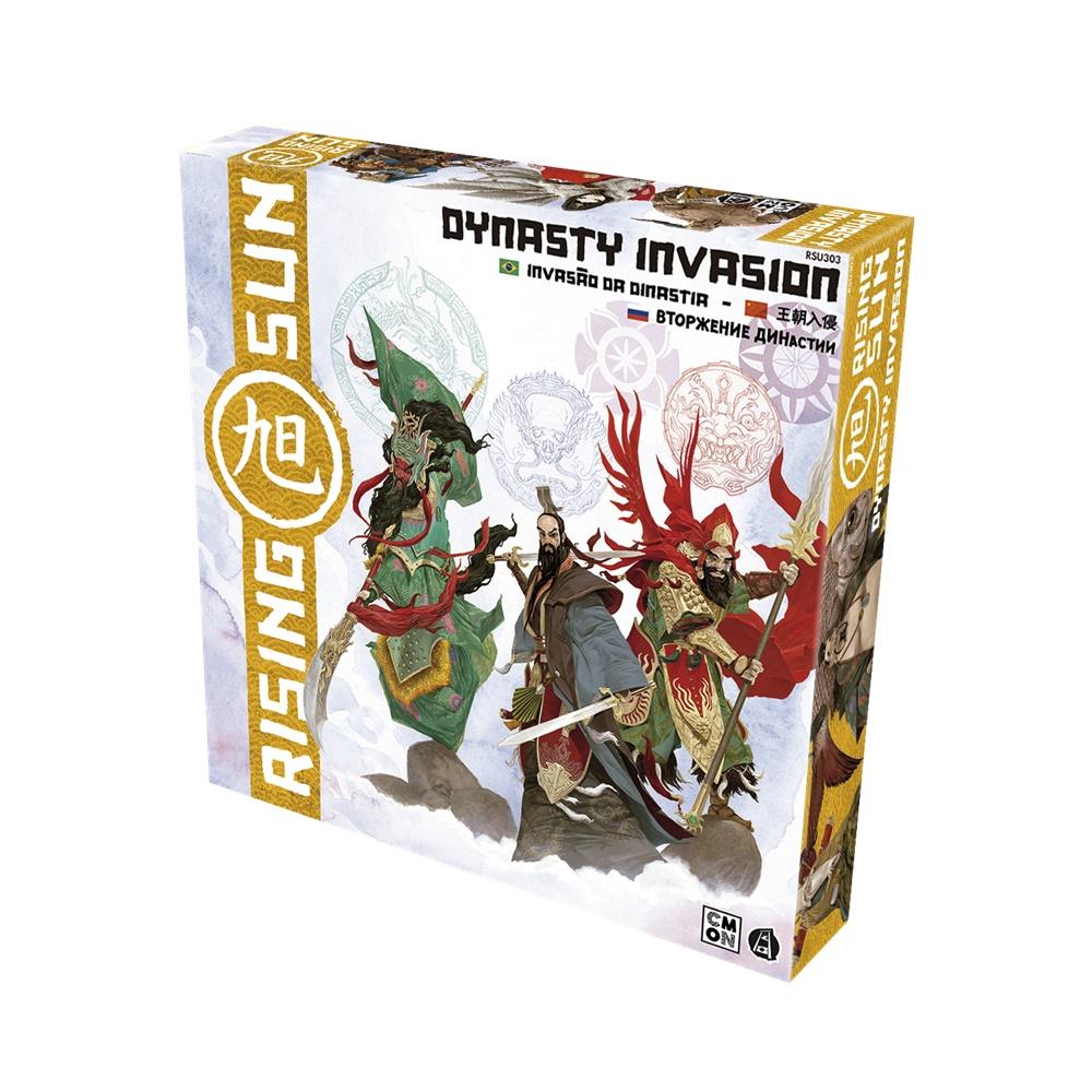 Rising Sun: Invasao da Dinastia - Expansão Jogo de Tabuleiro - Galápagos Jogos (em português)