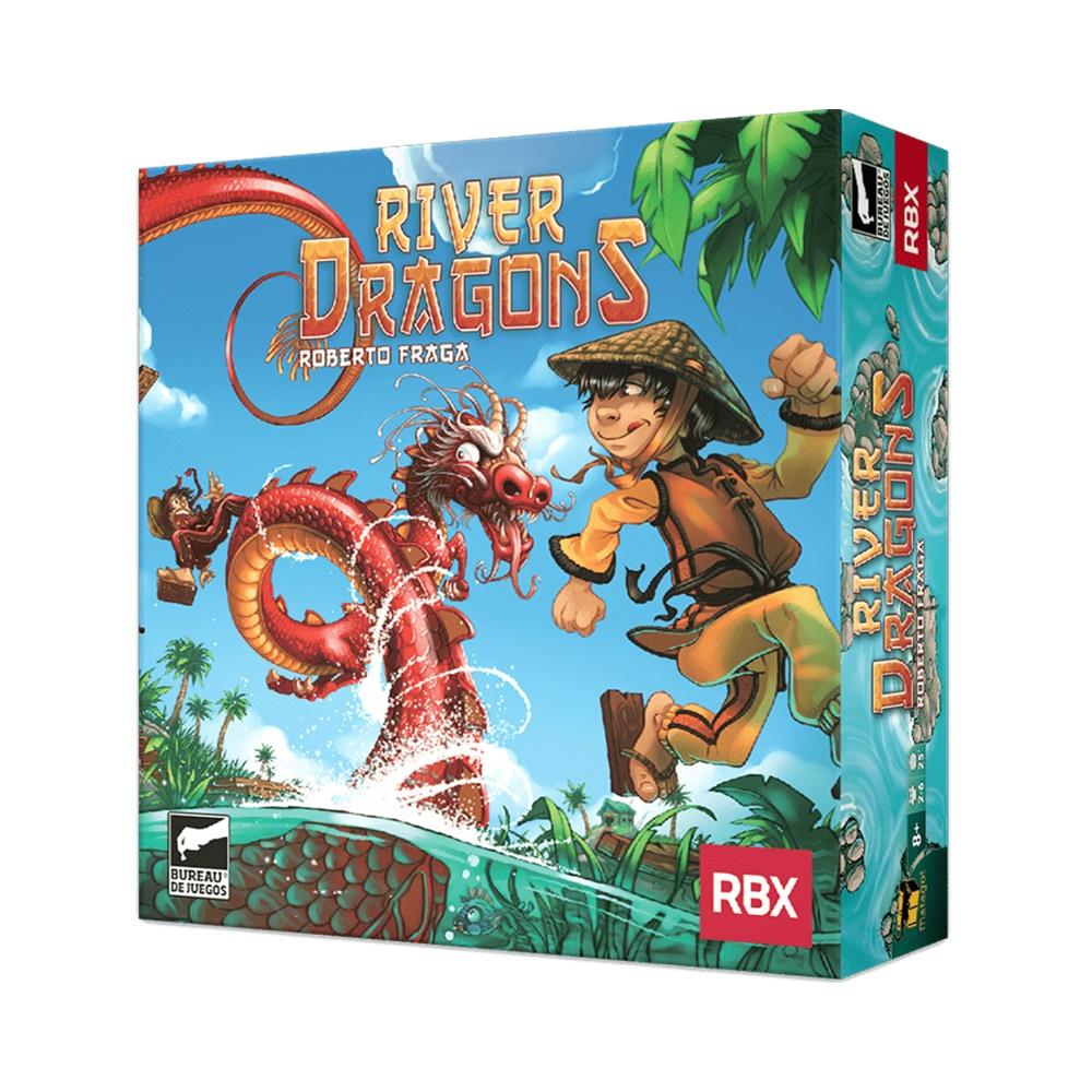 River Dragons - Jogo de Tabuleiro - Buró Jogos (em português)