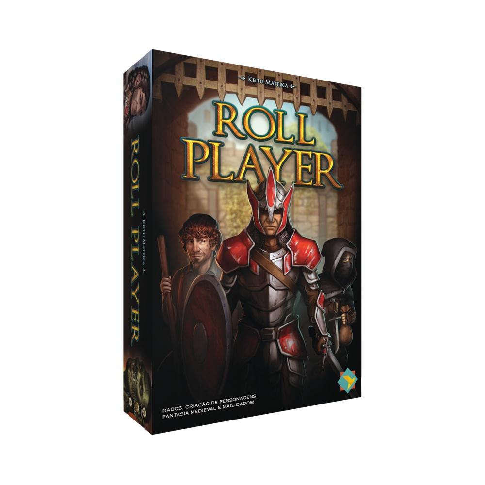 Roll Player - Jogo de Tabuleiro - Grok Games (em português)
