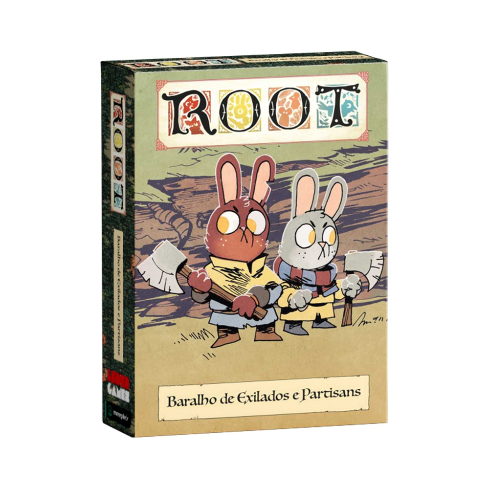 Root: Baralho de Exilados e Partisans - Expansão - MeepleBR (em português)