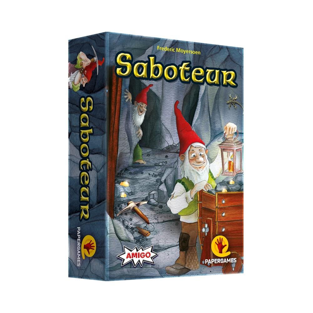 Saboteur - Jogo de Cartas - Papergames (em português)