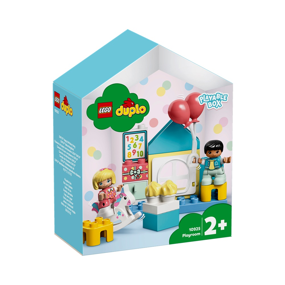 Sala de Recreação - Lego Duplo 10925 - 17 Peças