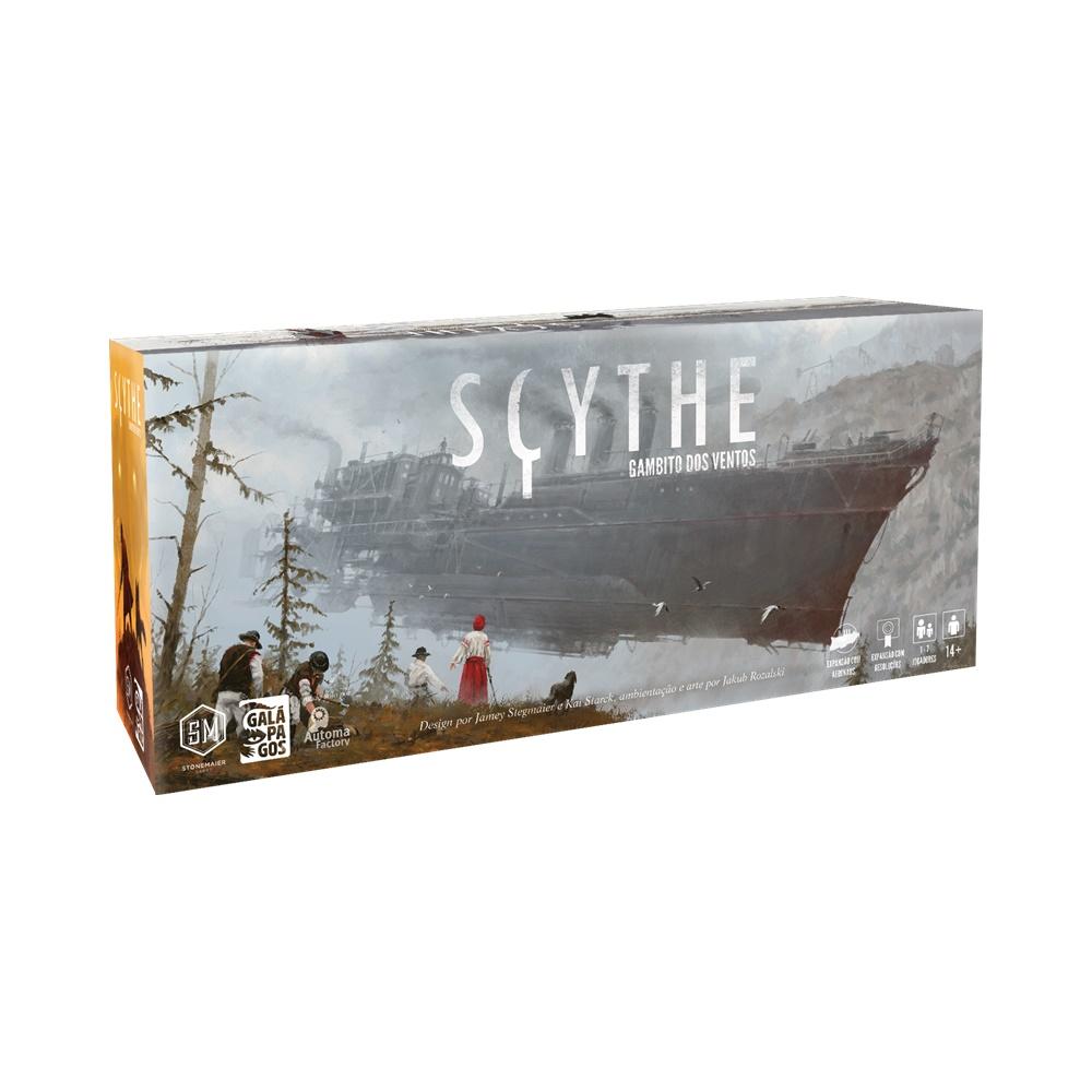 Scythe: Gambito dos Ventos - Expansão Jogo de Tabuleiro - Galápagos Jogos (em português)