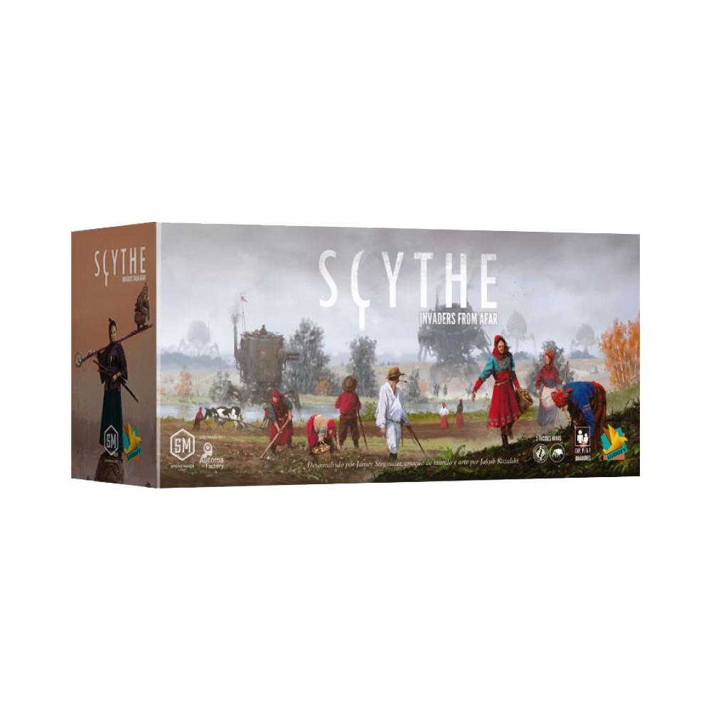 Scythe: Invaders from Afar - Expansão Jogo de Tabuleiro - Grok Games (em português)