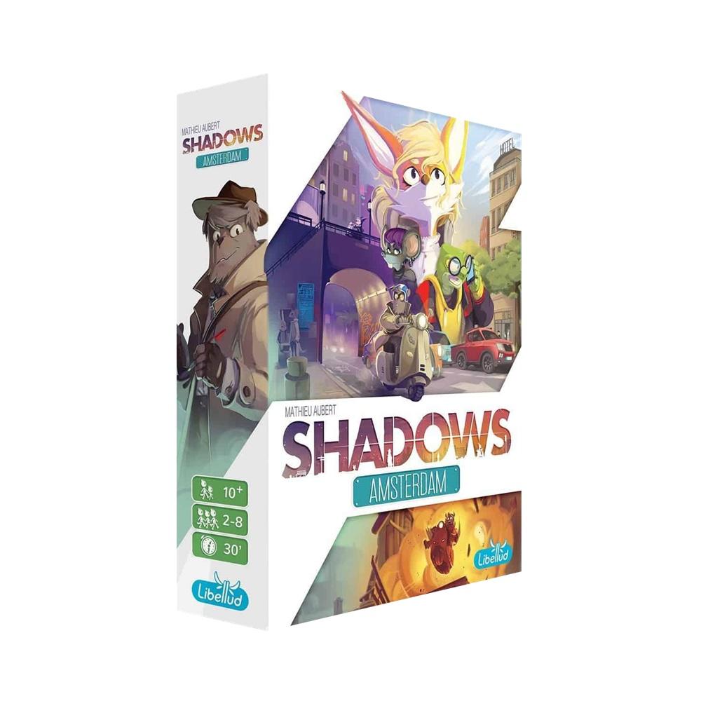 Shadows Amsterdam - Jogo de Tabuleiro - Galápagos Jogos (em português)