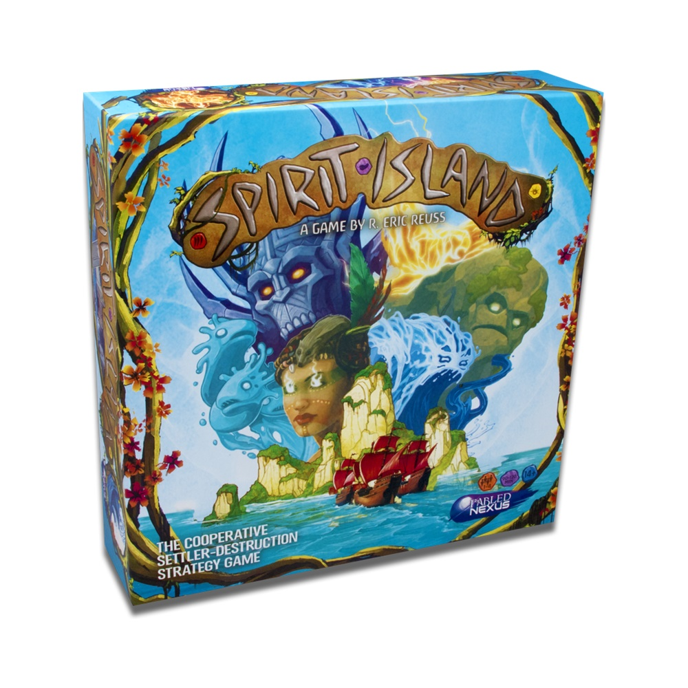 Spirit Island - Jogo de Tabuleiro - Ace Studios (em português)