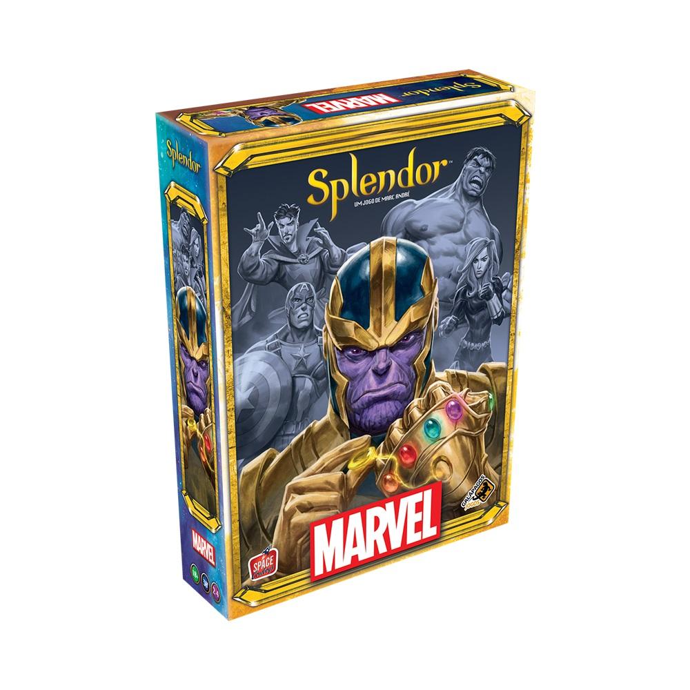 Splendor Marvel - Jogo de Tabuleiro - Galápagos Jogos (em português)