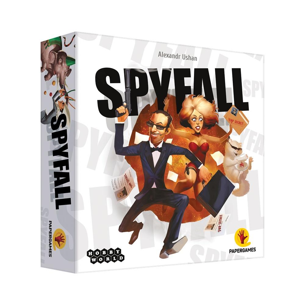 Spyfall - Jogo de Tabuleiro - Papergames (em português)