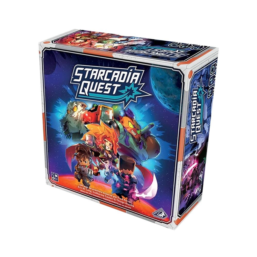 Starcadia Quest - Jogo de Tabuleiro - Galápagos Jogos (em português)