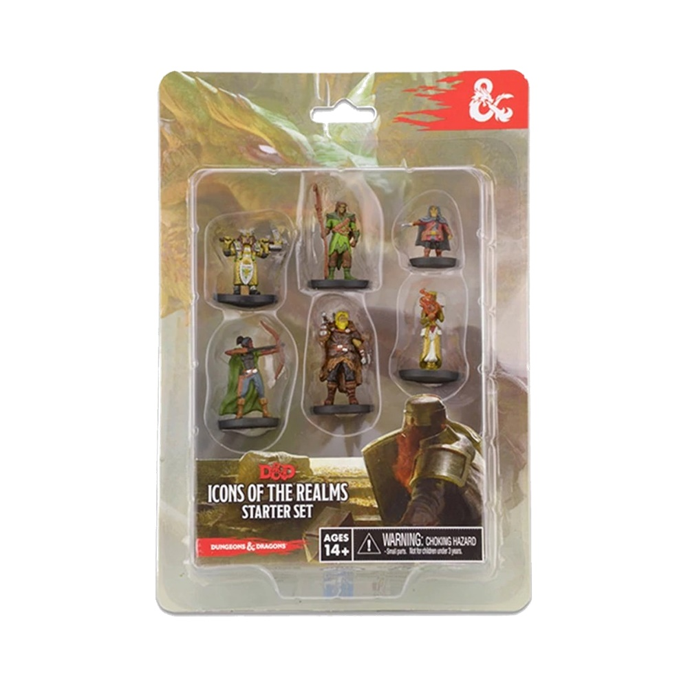 Starter Set - Icons of The Realms – Miniaturas Dungeons and Dragons (D&D)