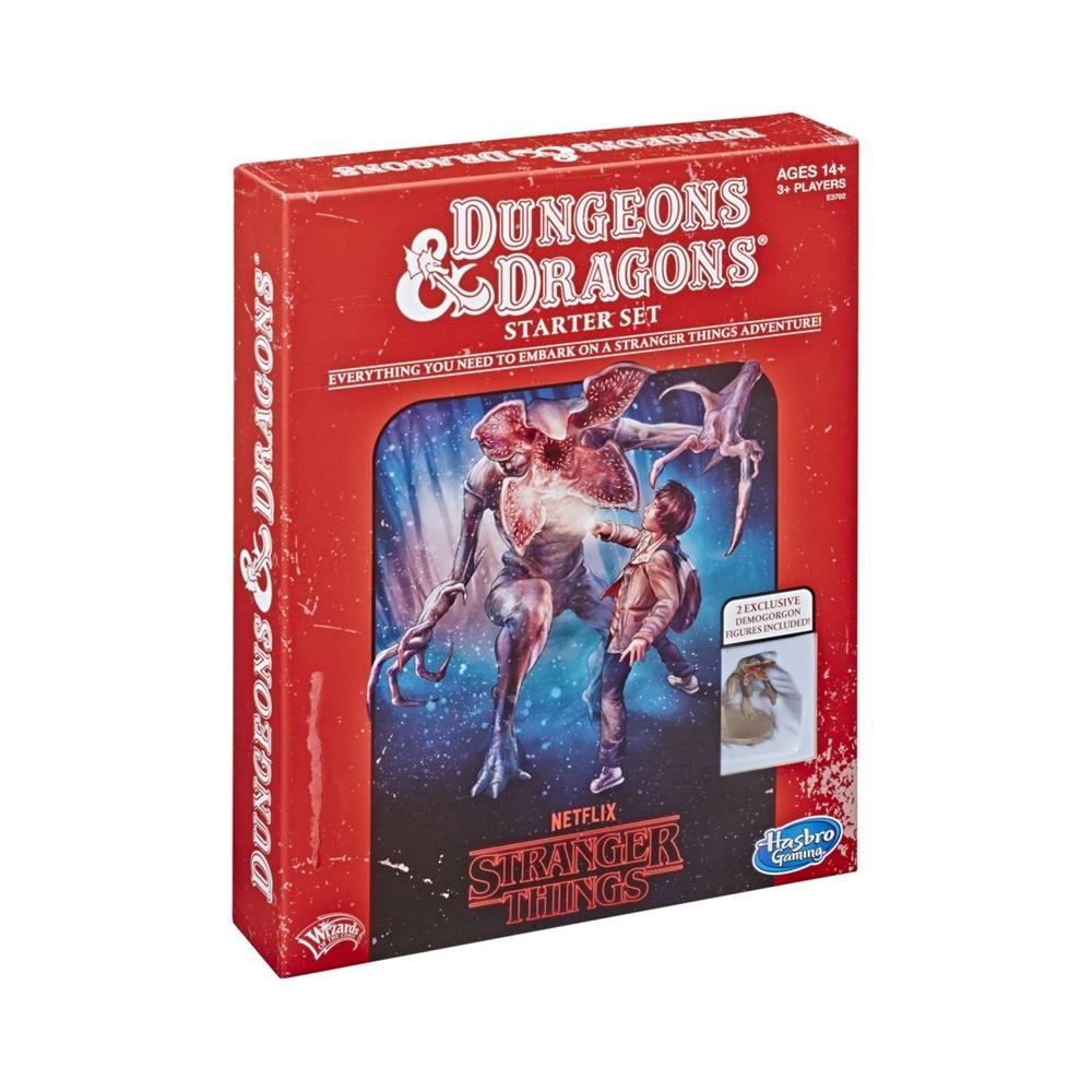 Stranger Things Starter Set - Livro de RPG - Dungeons and Dragons (em inglês)