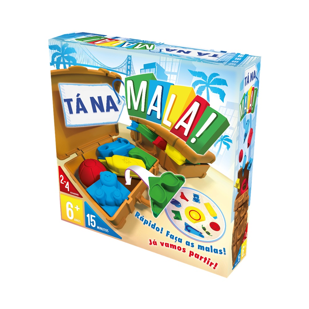 Ta na Mala 4 jogadores - Jogo de Tabuleiro - Galápagos Jogos (em português)