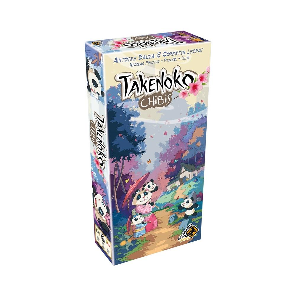 Takenoko: Chibis - Expansão Jogo de Tabuleiro - Galápagos Jogos (em português)