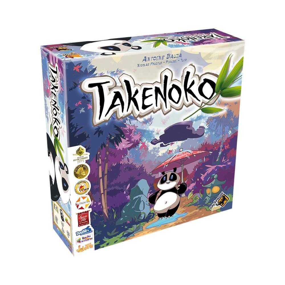Takenoko - Jogo de Tabuleiro - Galápagos Jogos (em português)