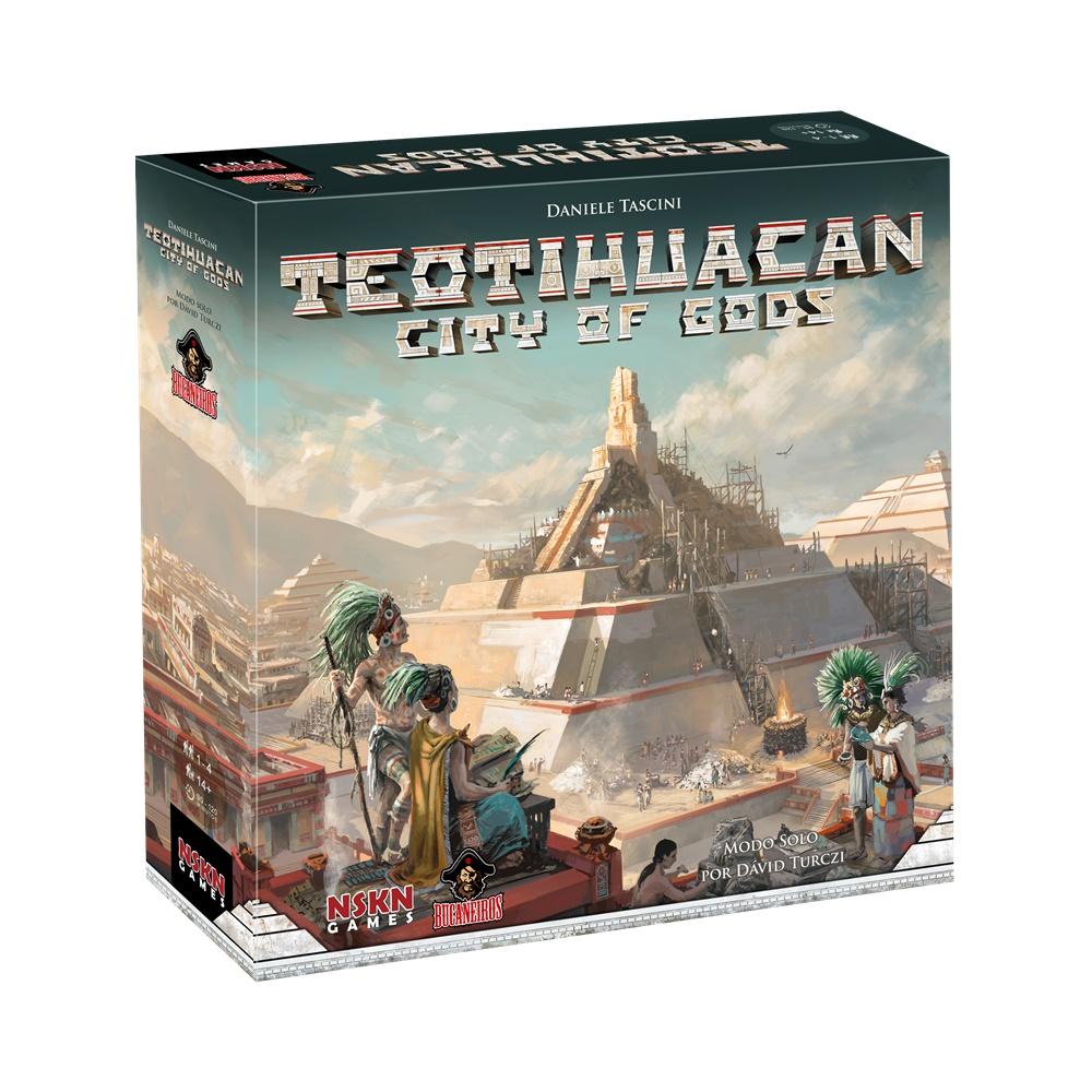 Teotihuacan City of Gods - Jogo de Tabuleiro - Bucaneiros Jogos (em português)