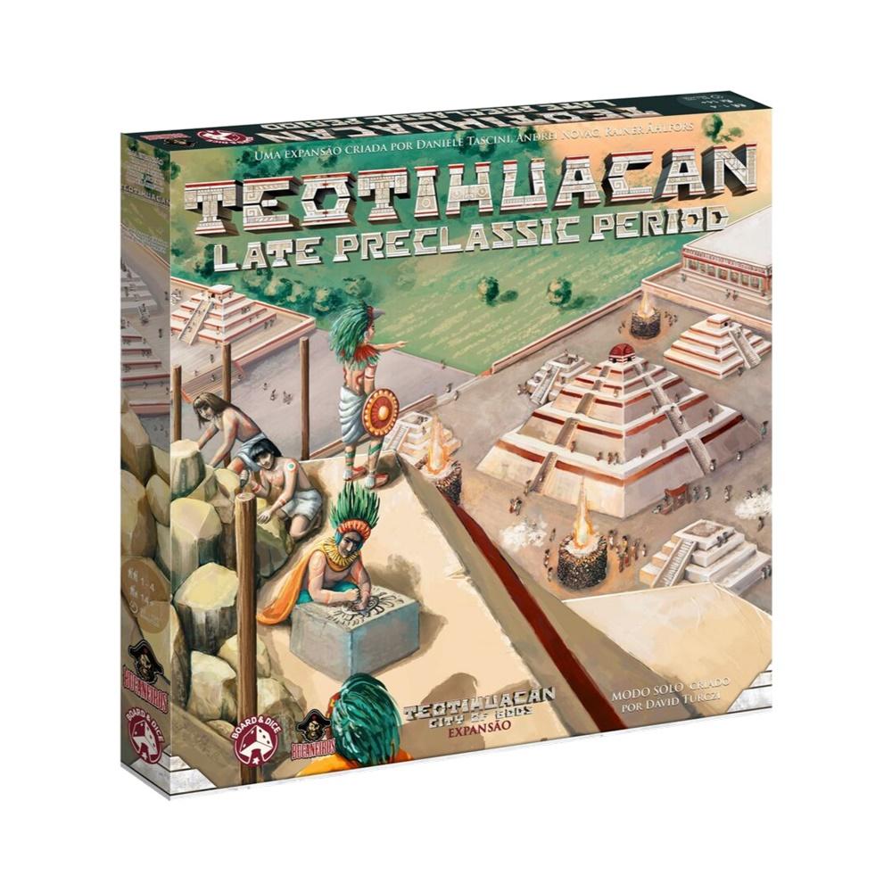 Teotihuacan Late Preclassic Period - Expansão Jogo de Tabuleiro - Bucaneiros Jogos (em português)