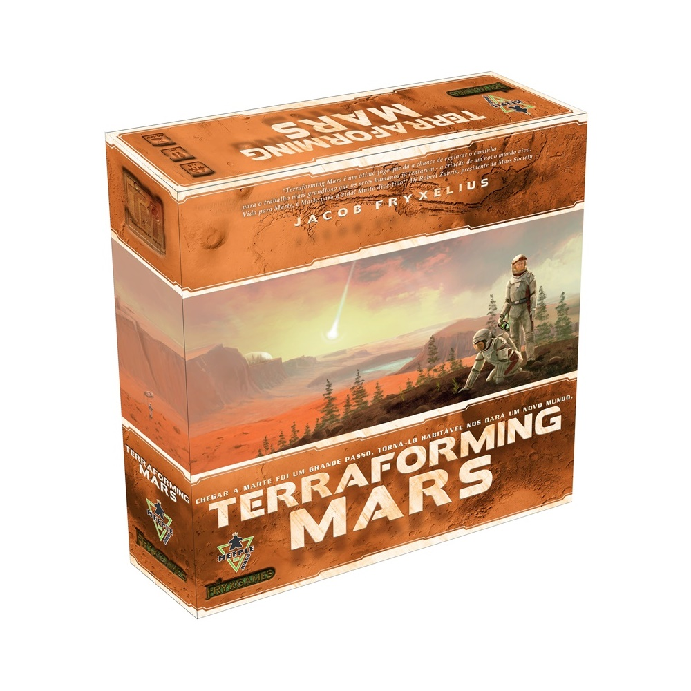 Terraforming Mars - Jogo de Tabuleiro - MeepleBR (em português)