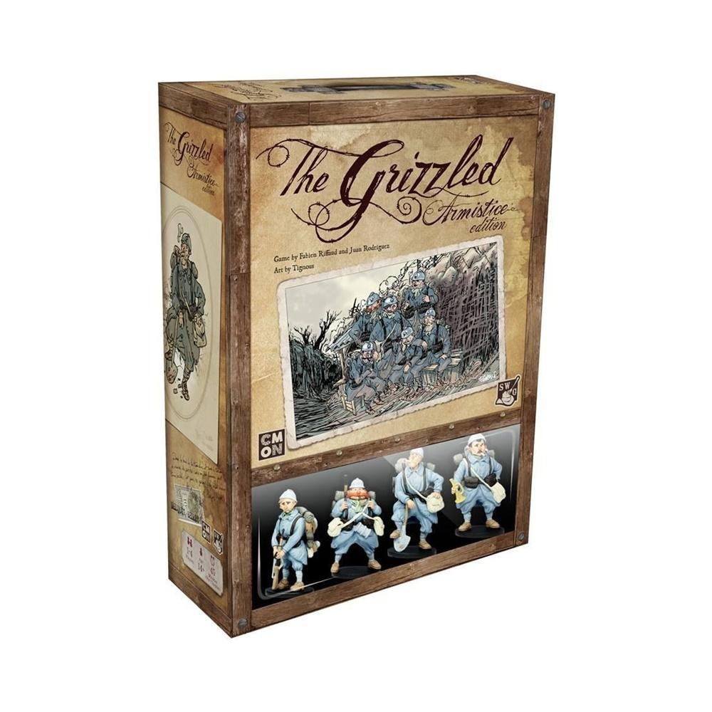 The Grizzled: Armistício - Jogo de Tabuleiro - Galápagos Jogos (em português)