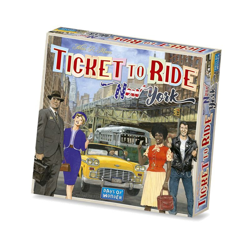 Ticket to Ride New York + Sleeves