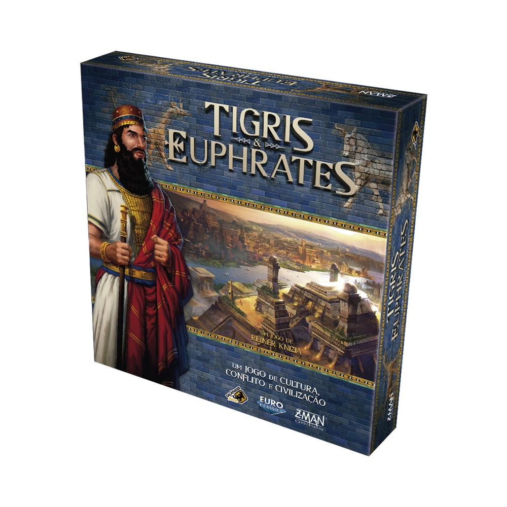 Tigris & Euphrates - Jogo de Tabuleiro - Galápagos Jogos (em português)