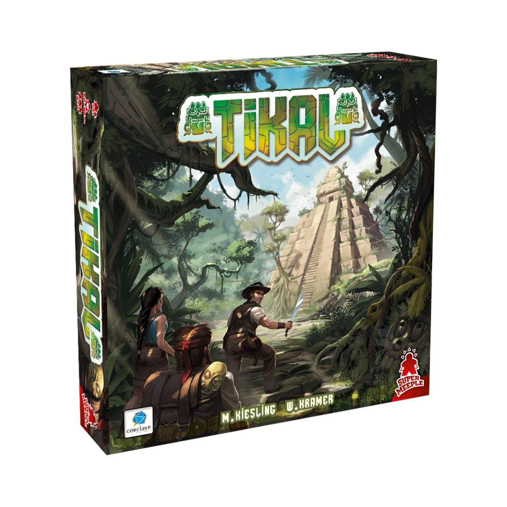 Tikal - Jogo de Tabuleiro - Conclave Editora (em português)