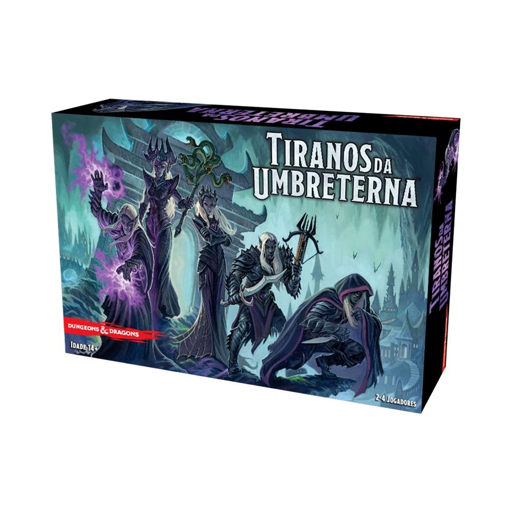 Tiranos da Umbreterna - Jogo de Tabuleiro - Kronos Games (em português)