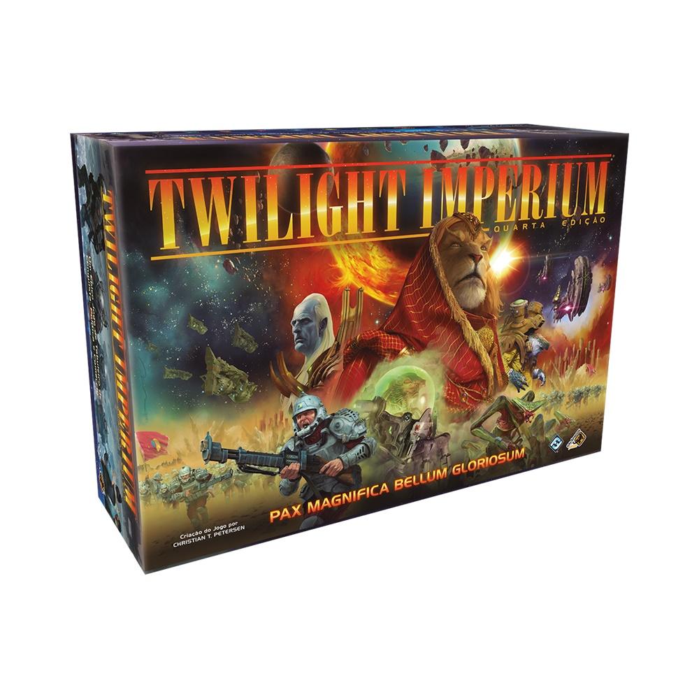 Twilight Imperium (Quarta Edição) - Jogo de Tabuleiro - Galápagos Jogos (em português)