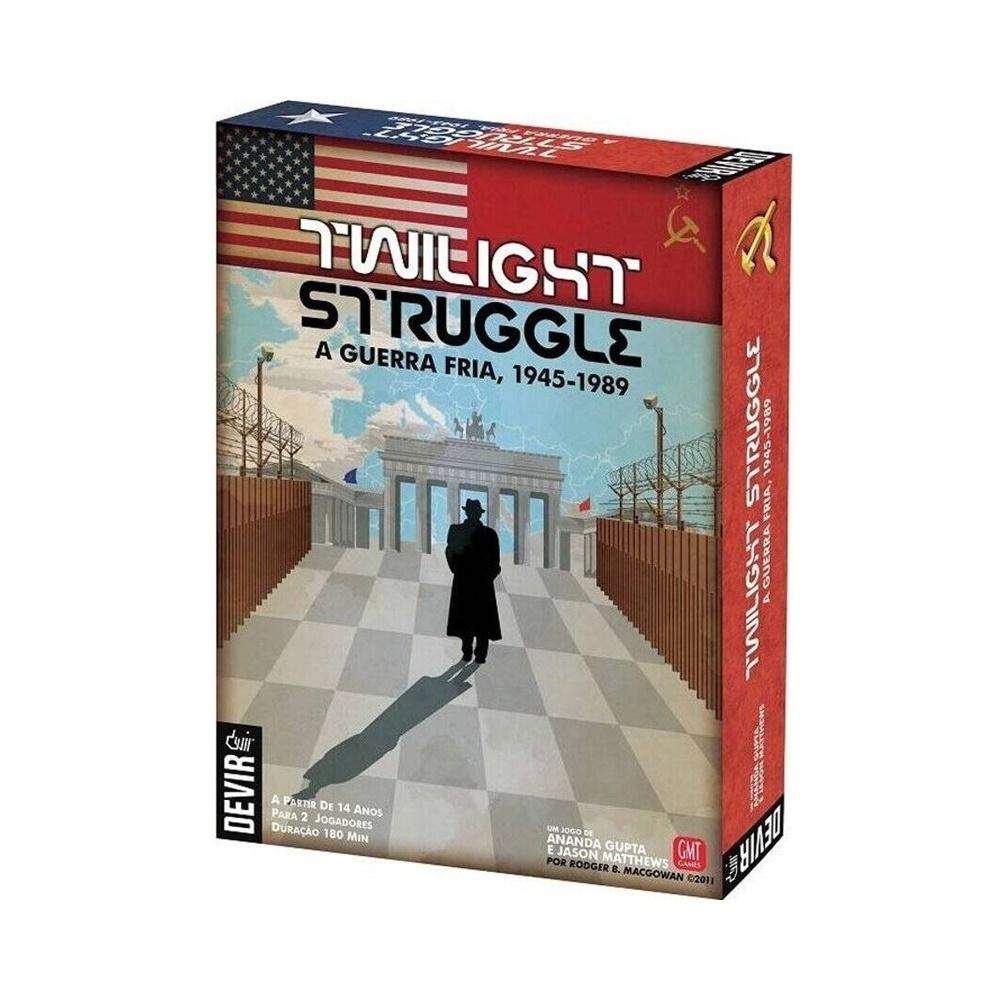 Twilight Struggle - Jogo de Tabuleiro - Editora Devir (em português)