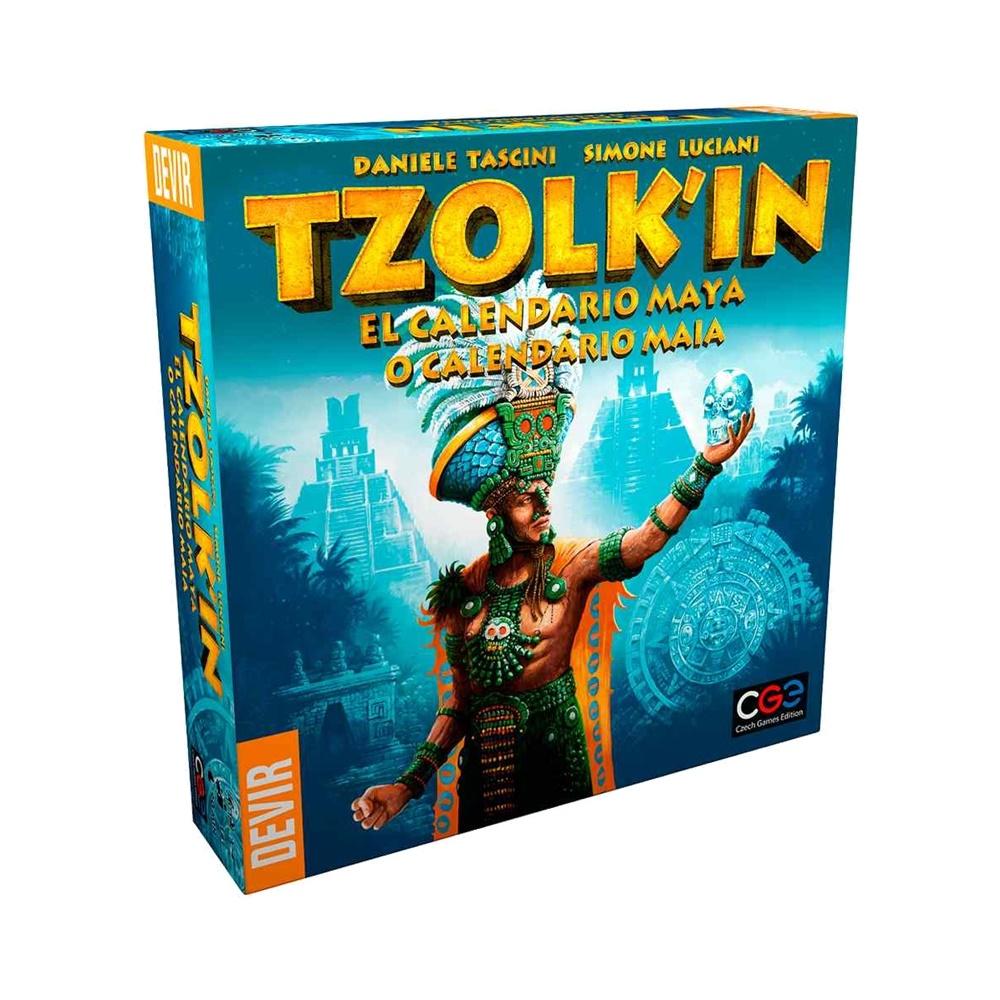Tzolk'in - Jogo de Tabuleiro - Editora Devir (em português)