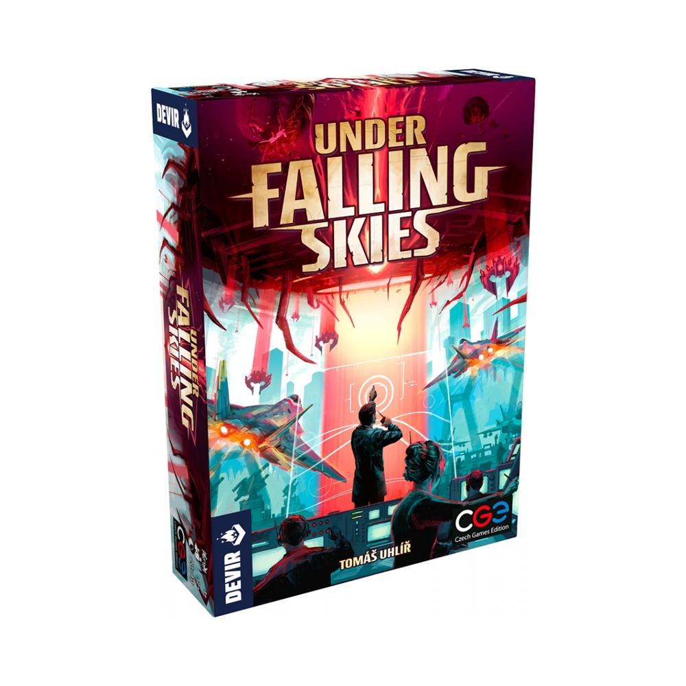 Under Falling Skies - Jogo de Tabuleiro - Editora Devir (em português)