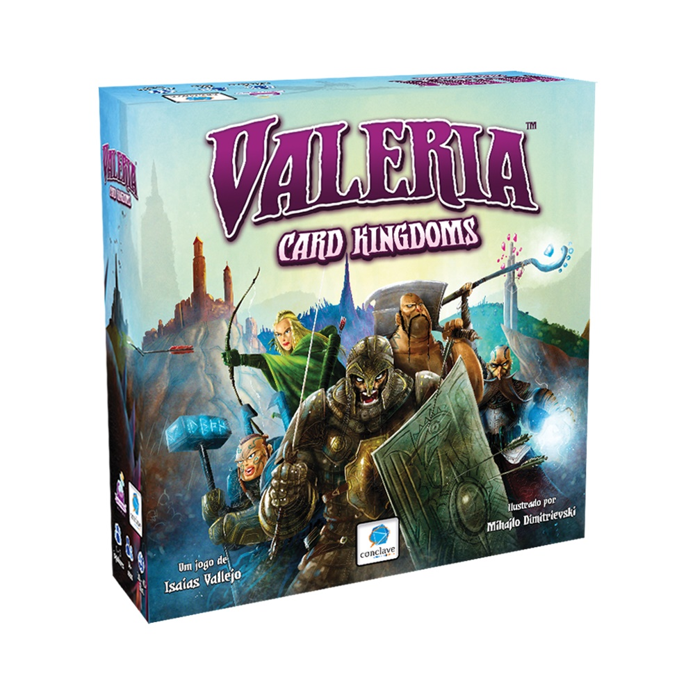 Valeria Card Kingdom - Jogo de Tabuleiro - Conclave Editora (em português)