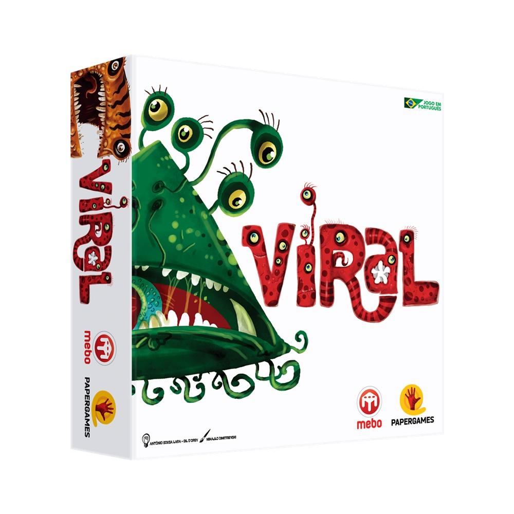 Viral - Jogo de Tabuleiro - Papergames (em português)